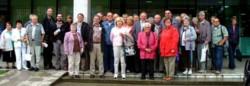 Die IG-Metall-Senioren waren zusammen mit dem KJR auf Einladung des Göppinger Abgeordneten Hofelich zu Gast im Landtag.
