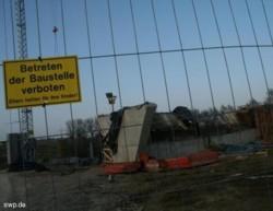 Die B 10 profitiert vom Konjunkturprogramm des Bundes: Künftige Brücke über den Schlater Tobel. FOTO: Ingrid Zeeb