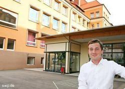 Bildung hat für SPD-Bundestagskandidat Sascha Binder einen hohen Stellenwert. FOTO: son